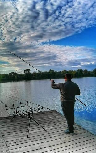 Abordare partida de pescuit crap in sezonul rece